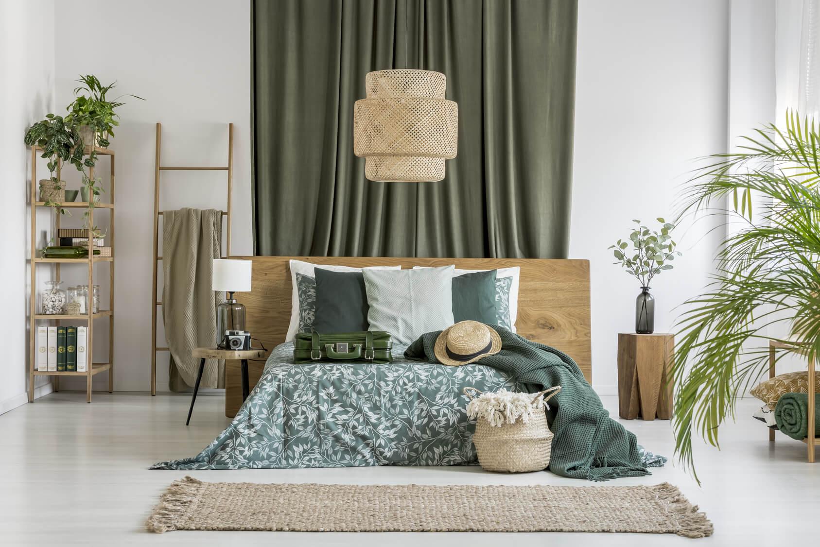 Pflanzen im Schlafzimmer – Einfluss auf's Schlafklima